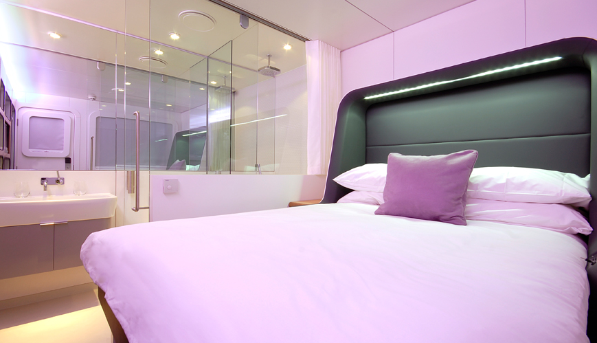 Trend: Mini hotelkamers op luchthavens