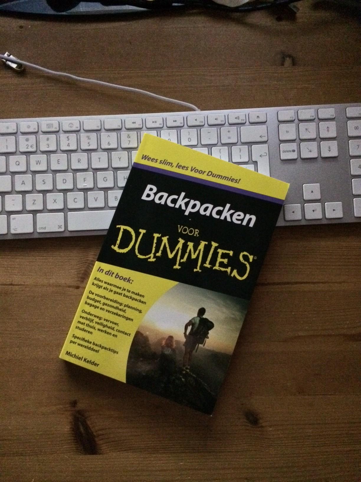 Nieuw Boek: Backpacken voor Dummies