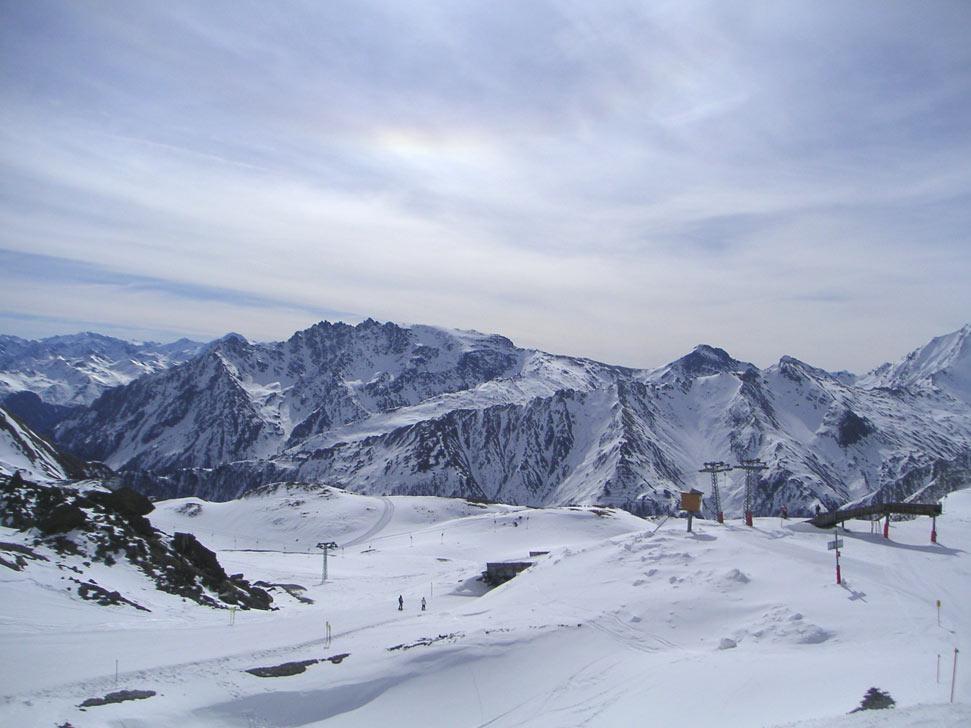 Wintersporten in de Silvretta Arena