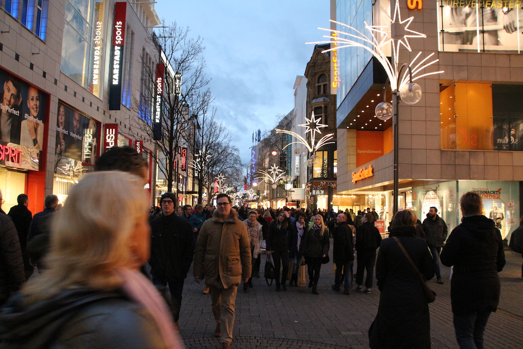 Shoppen in Keulen