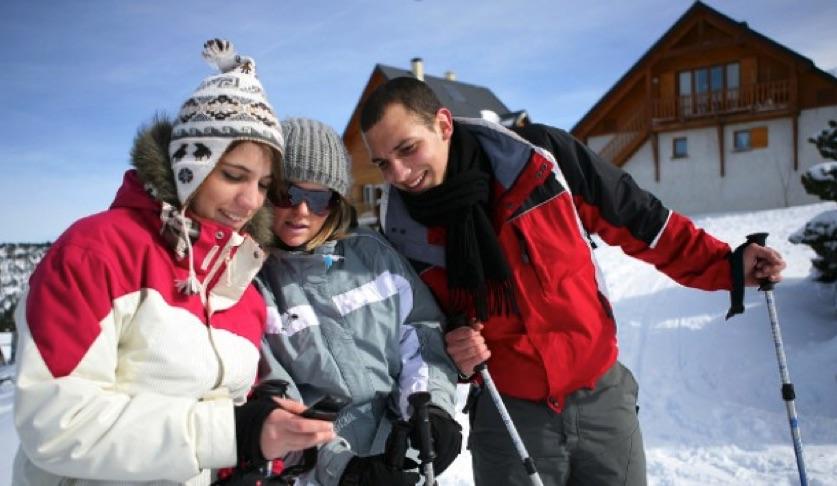 Gratis wintersport apps voor je mobiel