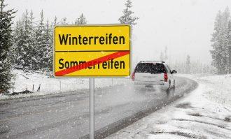 Winterbanden in het buitenland