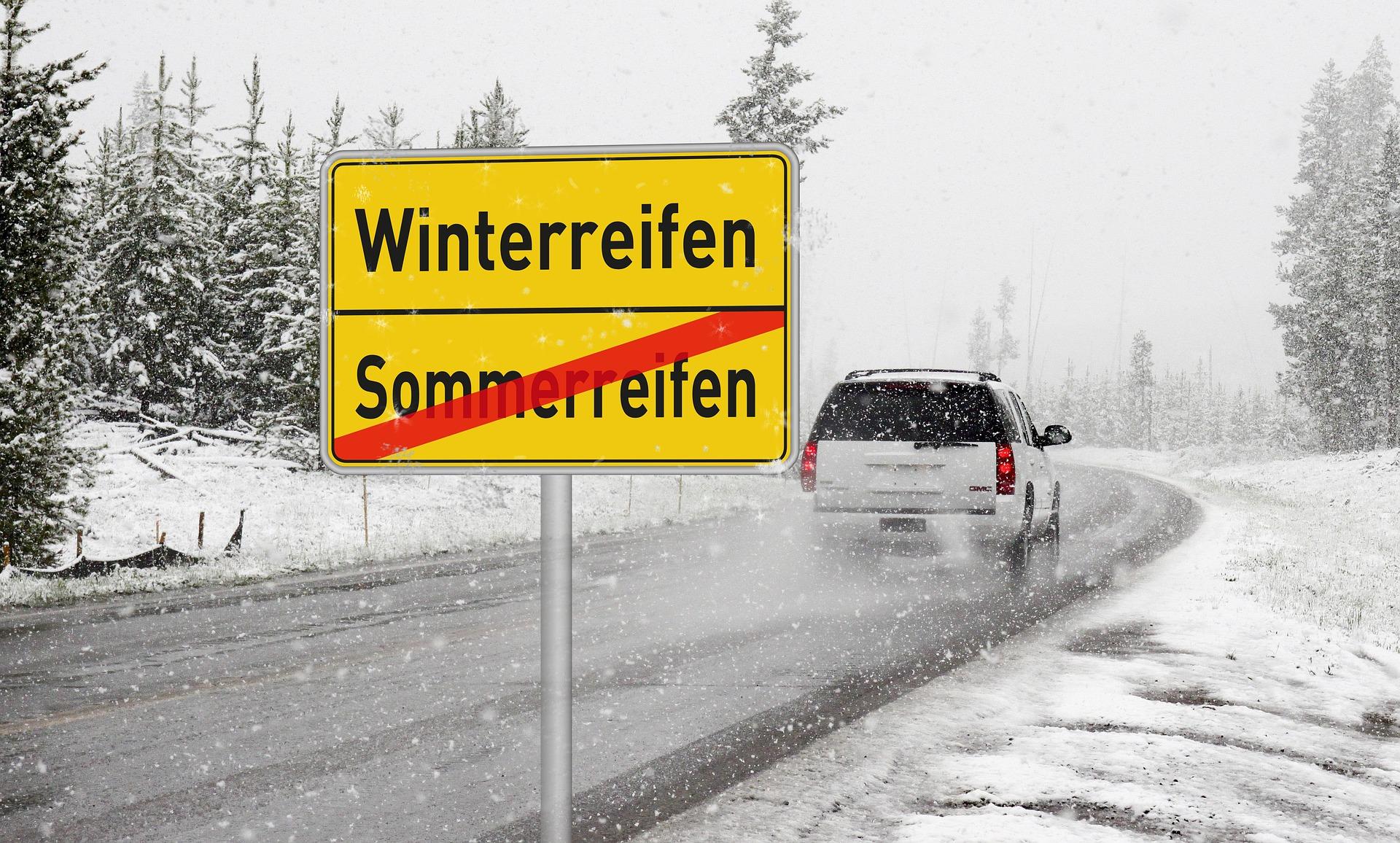 Winterbanden: De regels in het buitenland